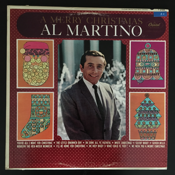 Al Martino: A Merry Christmas LP