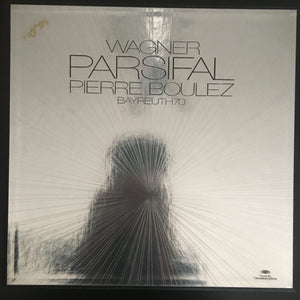 Richard Wagner: Parsifal 5 x LP box set with booklet