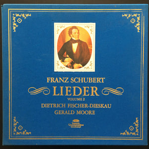 Franz Schubert: Lieder Volume 2 13 x LP limited edition box set with book