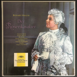Richard Strauss: Der Rosenkavalier 4 x LP boxset with booklet