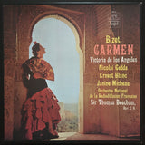 Georges Bizet: Carmen 3 x LP box set with 14 page booklet.