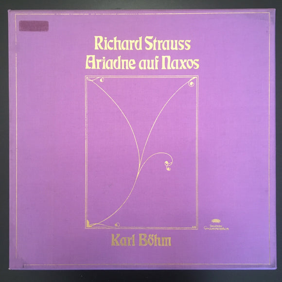 Richard Strauss: Ariadne Auf Naxos 3 x LP box set with 40 page booklet