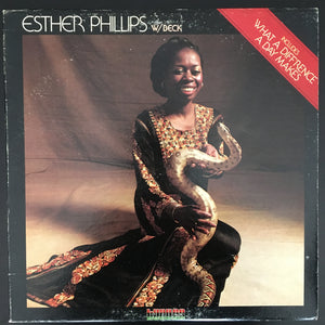 Esther Phillips w/ [Joe] Beck: Esther Phillips w/Beck (What a Difference a Day Makes) LP