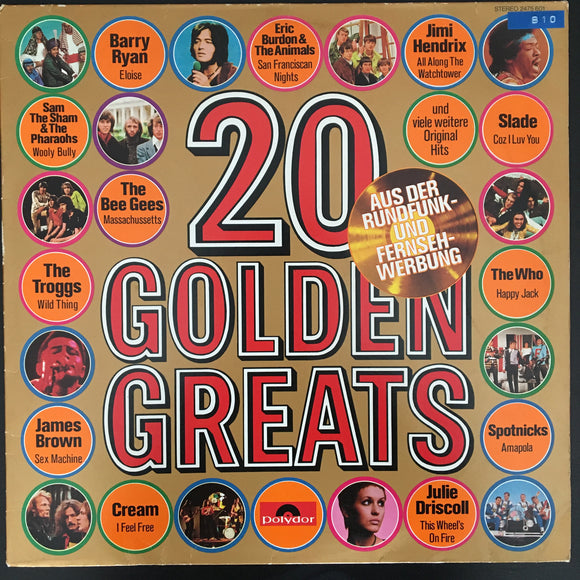 Various Artists: 20 Golden Greats LP