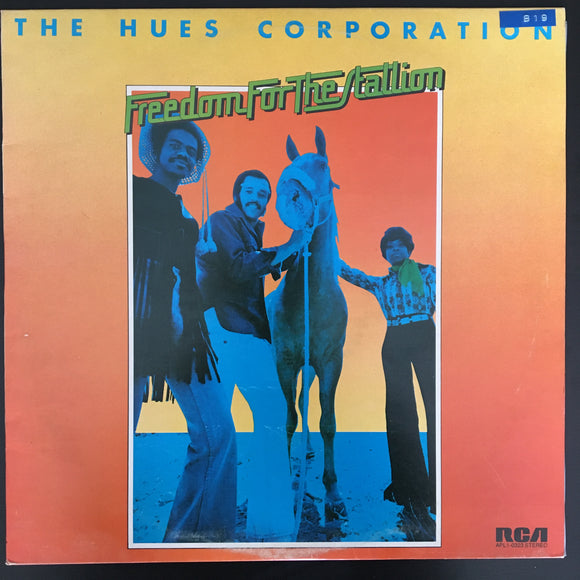The Hues Corporation: Freedom For The Stallion LP