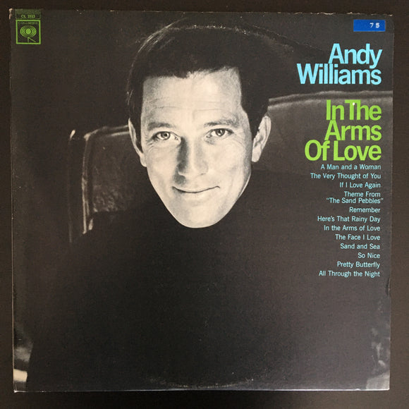 Andy Williams: In the Arms of Love LP (mono)