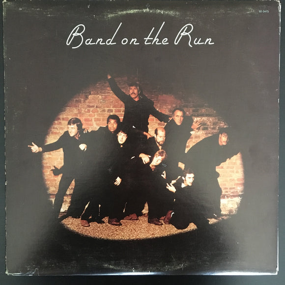 Paul McCartney & Wings: Band On The Run LP
