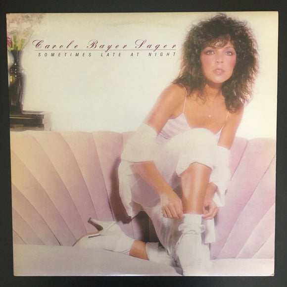 Carole Bayer Sager: Sometimes Late At Night LP