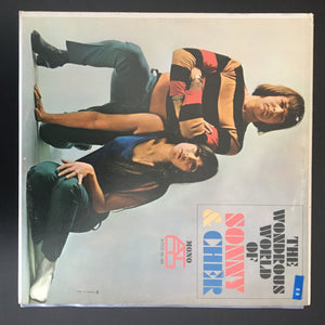 Sonny & Cher: The Wondrous World Of Sonny & Cher LP, mono