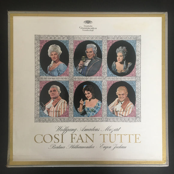 Wolfgang Amadeus Mozart: Cosi Fan Tutte 3 x LP box set with libretto booklet