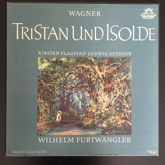 Richard Wagner: Tristan und Isolde 5 x LP box set with libretto booklet