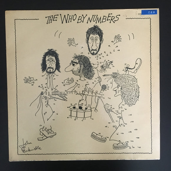 The Who: The Who By Numbers LP