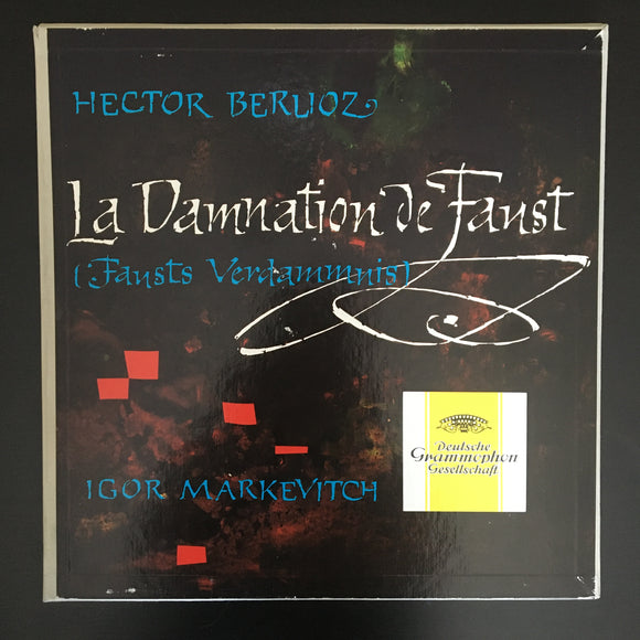 Hector Berlioz: La Damnation De Faust (Fausts Verdammnis) 2 x LP box set with libretto booklet