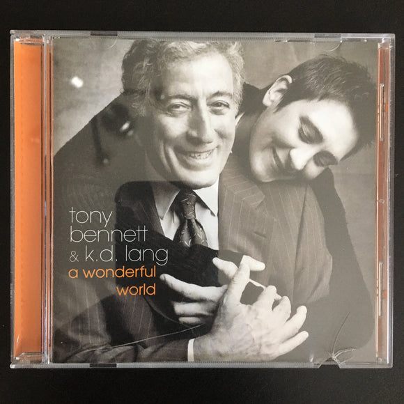 Tony Bennett & k.d. lang: A Wonderful World CD