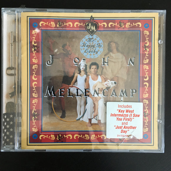 John Mellencamp: Mr. Happy Go Lucky CD