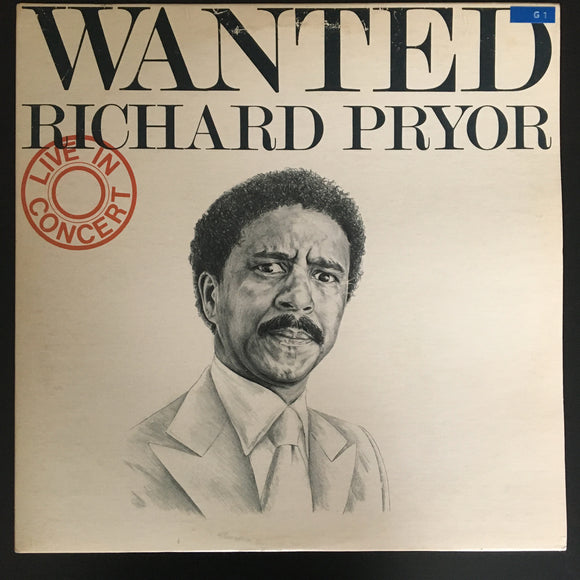 Richard Pryor: Wanted: Live in Concert 2 x LP gatefold