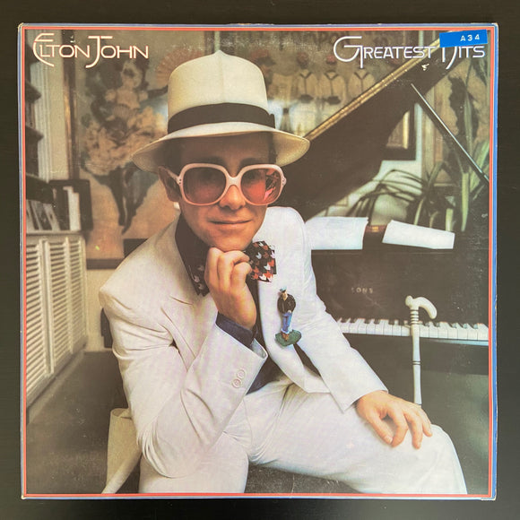 Elton John: Greatest Hits LP