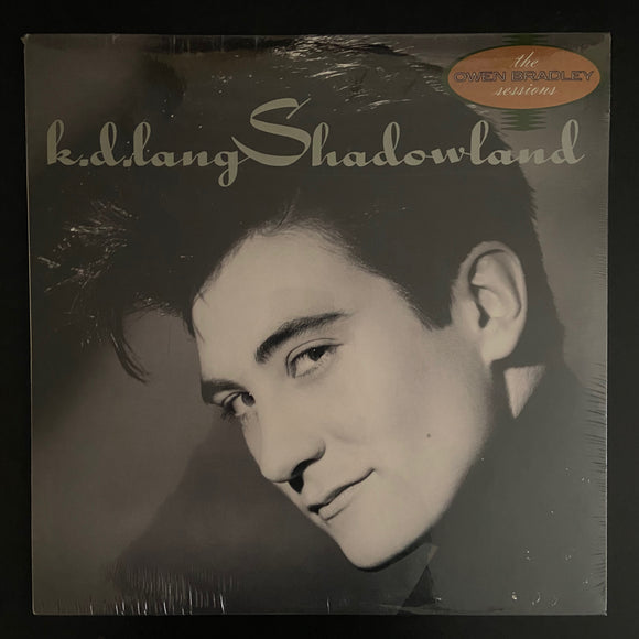 k.d. Lang: Shadowland still-sealed LP