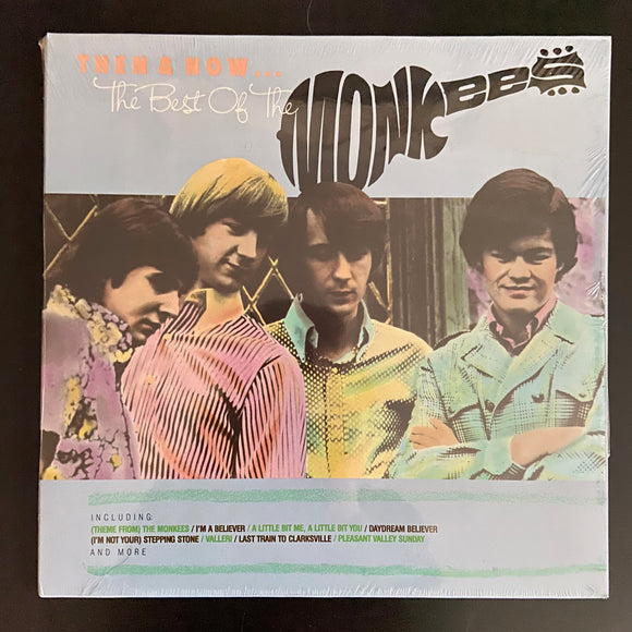 Monkees: Then and Now ... The Best of the Monkees still-sealed LP