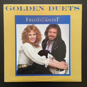 Frizzell & West: Golden Duets the Best of Frizzell & West LP