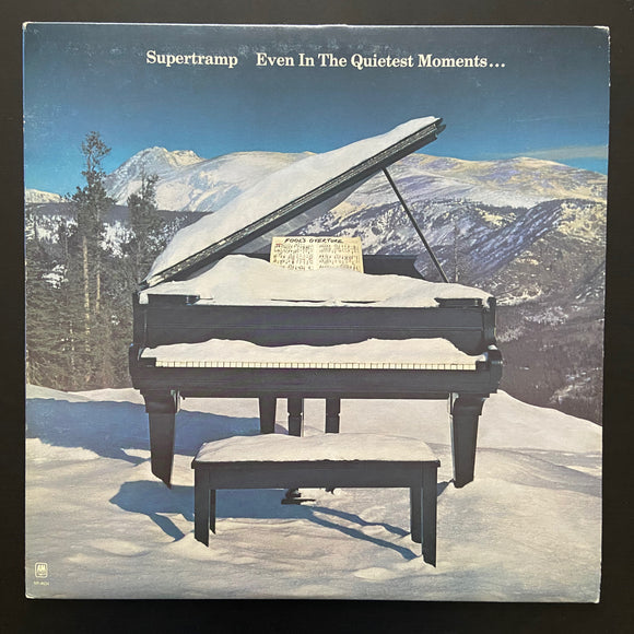 Supertramp: Even in the Quietest Moments ... LP