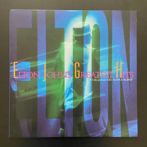 Elton John: Greatest Hits Volume III 1979-1987 LP