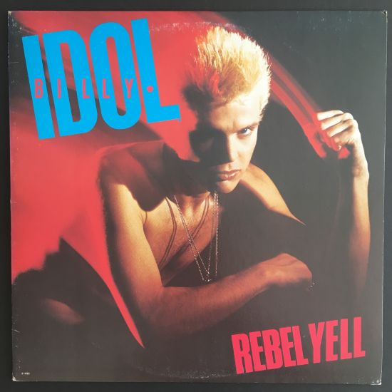 Billy Idol: Rebel Yell LP