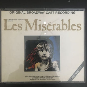 Misérables: Original Broadway Cast Recording 2 x CD