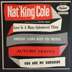 "Nat ""King"" Cole: Love Is a Many-Splendored Thing 7 inch EP"