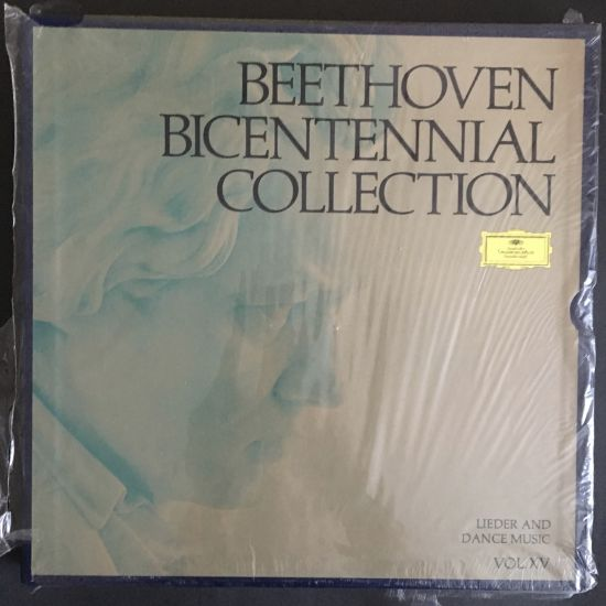 Ludwig van Beethoven: Beethoven Bicentennial Collection: Lieder and Dance Music (Vol. XV) LP Box set