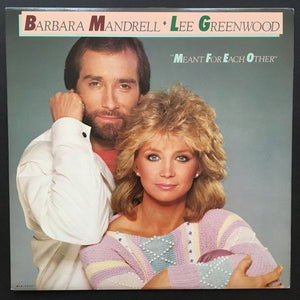 Barbara Mandrell and Lee Greenwood: Meant for Each Other LP