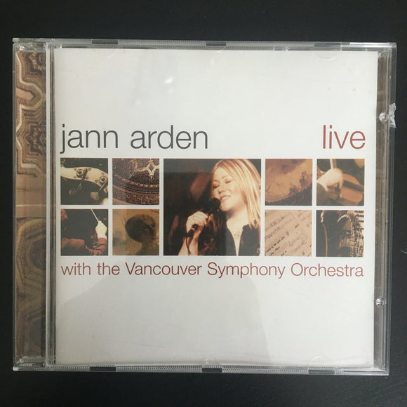 Jann Arden With The Vancouver Symphony Orchestra: Live CD