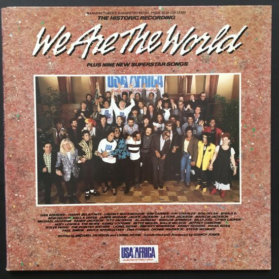 Various Artists: We Are the World LP