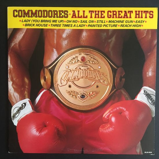 Commodores: All the Great Hits LP