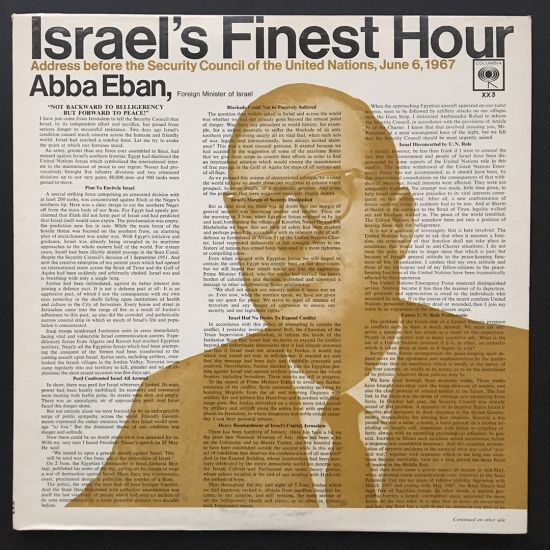 Abba Eban: Israel's Finest Hour: Address Before the Security Council of the United Nations, June 6, 1967 LP