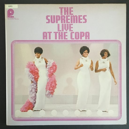 Supremes: Supremes Live at the Copa LP