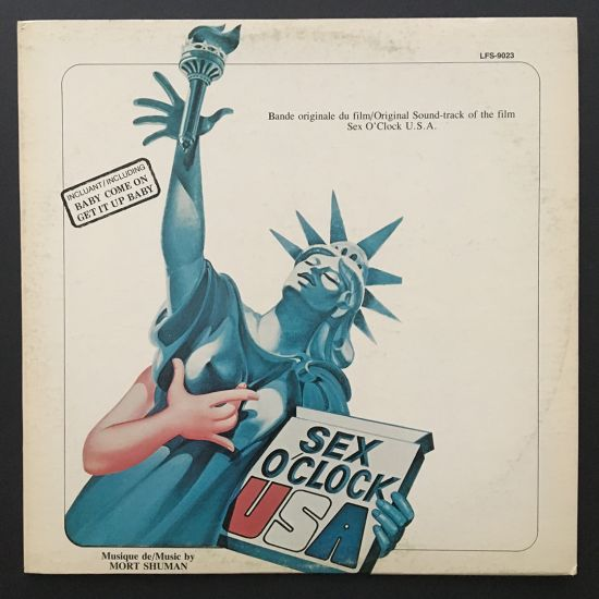 Mort Shuman: Original Sound-Track of the Film Sex O'Clock U.S.A. LP