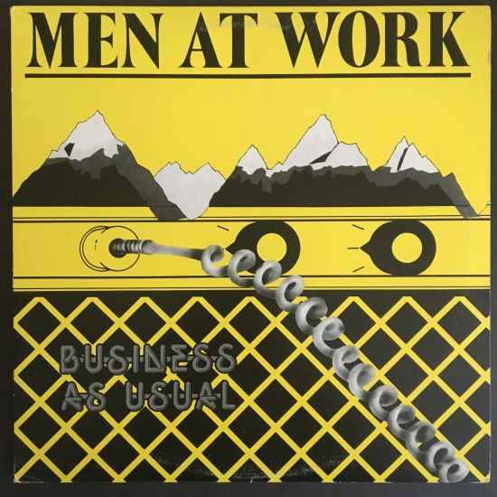 Men At Work: Business As Usual LP