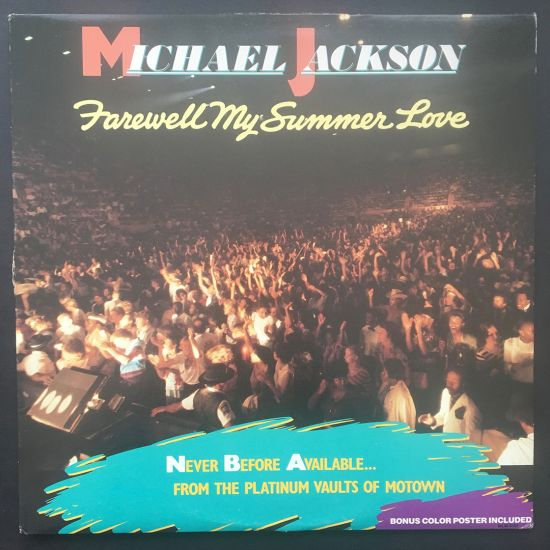Michael Jackson: Farewell My Summer Love LP