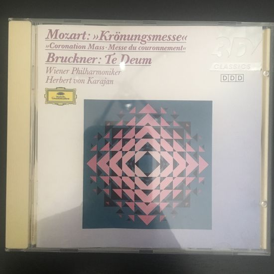 Wolfgang Amadeus Mozart and Anton Bruckner: Krönungsmesse and Te Deum CD