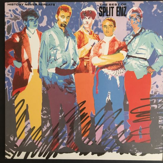 Split Enz: History Never Repeats – The Best of Split Enz LP