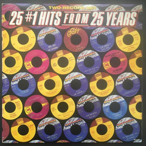 Various Artists: 25 #1 Hits From 25 Years 2 x LP Compilation