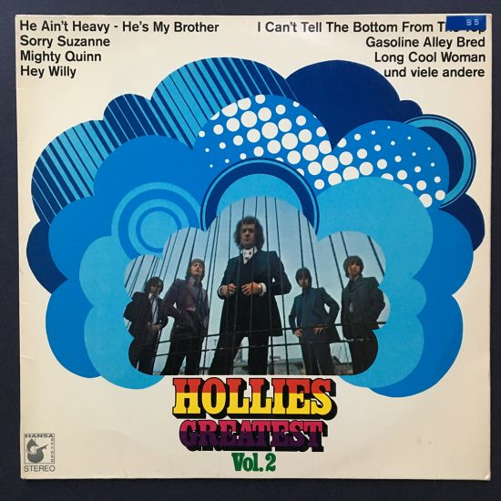 The Hollies: Hollies Greatest Vol. 2 LP