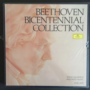 Ludwig van Beethoven: Beethoven Bicentennial Collection: Piano Quartets and Wind Music (Vol. XVI) LP Box set