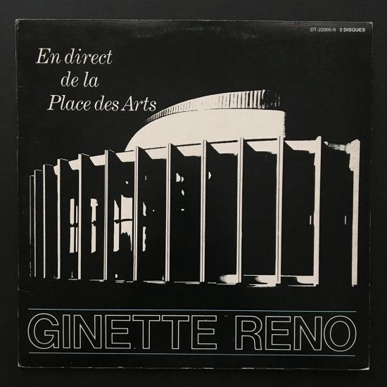 Ginette Reno: En Direct de la Place des Arts 2 x LP Gatefold