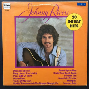 Johnny Rivers: 20 Great Hits LP