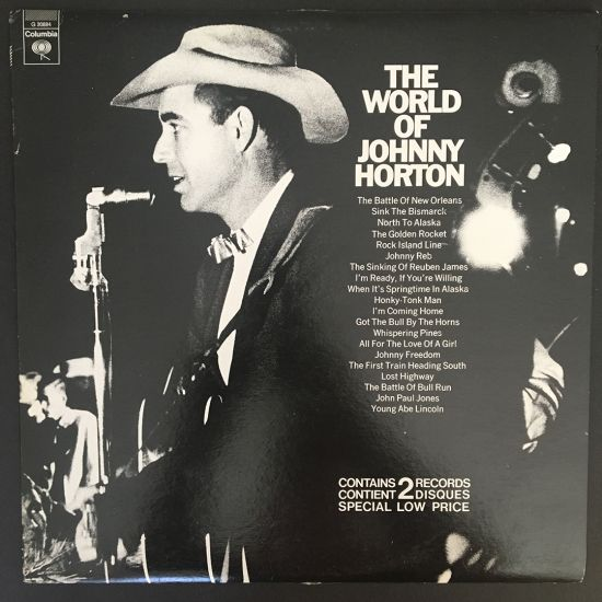 Johnny Horton: The World of Johnny Horton 2 x LP