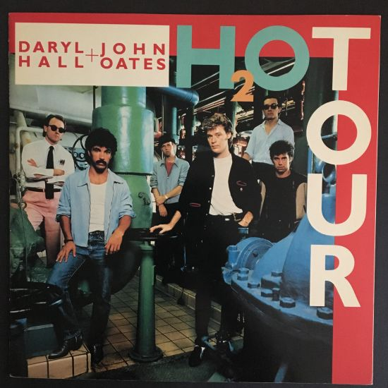Daryl Hall and John Oates: H2OTour Souvenir Program (1983), North America Tour