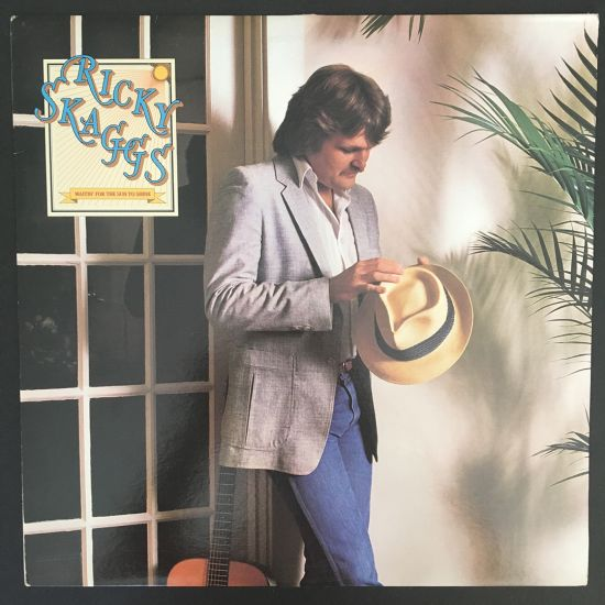 Ricky Skaggs: Waitin' for the Sun to Shine LP