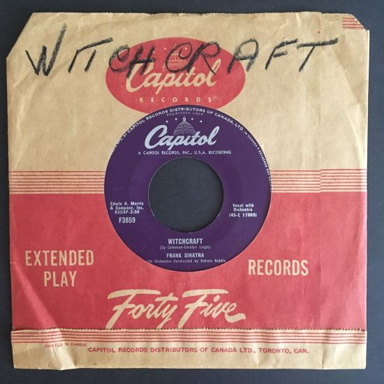 Frank Sinatra: Witchcraft / Tell Her You Love Her 7 inch 45 RPM
